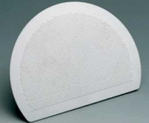 Купить Скребок кондитерский пластиковый полукруглый 195х150мм Martellato RTS 1