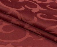 Купить ткань скатертная забель шир.290см пл. 208гр 50%хб/50%пэ бордо;терракот недорого.