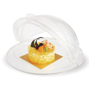 Купить Крышка для витрин круглая Roll-Top d-410*h-195мм поликарбонат 8448