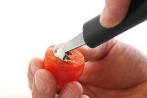 Купить Нож для вырезания шариков одинарный, гофрированный d-22x155мм Hendi 856024