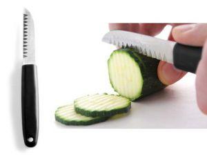 Купить Нож для декоративной нарезки зубчатый 90х200мм Hendi 856062