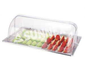 Купить Крышка прозрачная Roll-Top с подносом 560х370*h-220мм 88113