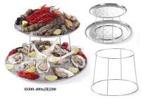 Купить подставка для морепродуктов 2-х ярусная d-300/400*h-200мм hendi 480519 недорого.