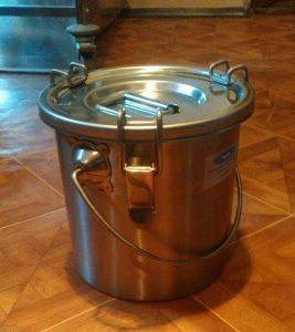 Купить Контейнер для транспортировки блюд 6л d-200*h-200 мм
