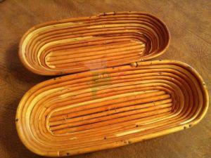 Купить Форма для расстойки хлеба овальная из лозы ~1,0кг L-340хB-135*h-80мм