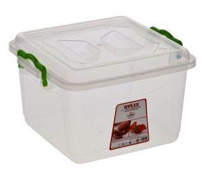 Купить Клипбокс ящик пластиковый глубокий 6л 250x250*h-170мм Senyayla 2650