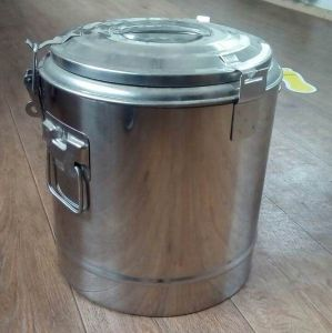 Купить Термоконтейнер для транспортировки пищи 12л 30х30см GI.METAL