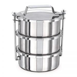 Купить Контейнеры для транспортировки пищи (крышка без уплотнителя) 3шт х 3л 20x9см KAPP 30632010