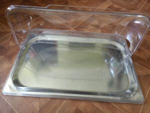 Купить Крышка для витрины c гастроподносом GN 1/1 530х325*175мм