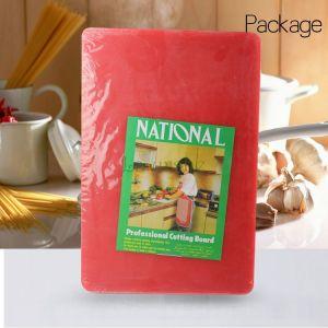 Купить Доска разделочная пластиковая 600*400*12 мм красная, белая, желтая, зеленая, синяя, коричневая 188-33
