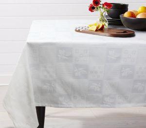 Купить Ткань декоративная скатертная шир.150 см пл. 237 г/м2 45%хл /55% пэ цвета в ассортименте